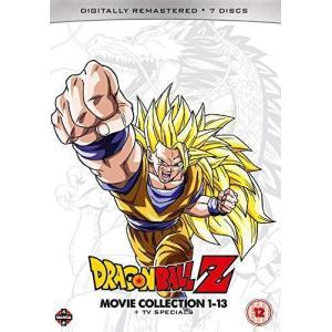 DRAGON BALL Z 劇場版コンプリート・コレクション: 劇場版13作品+TVスペシャル DVD (UK版)|wdplace