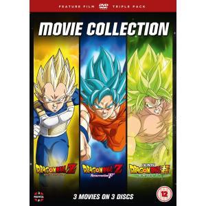 ドラゴンボール 劇場版3作品パック 復活の「F」 & 神と神 & ブロリー DVD (UK版)|wdplace