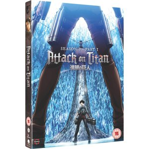 進撃の巨人 Season 3 Part 1 DVD (NTSC) (UK版) wdplace