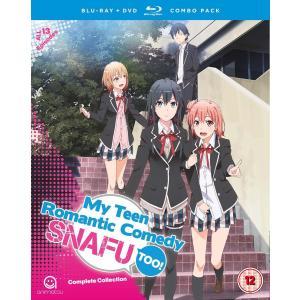 やはり俺の青春ラブコメはまちがっている。続 (BD+DVD) (NTSC) (UK版)