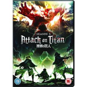 進撃の巨人 Season 2 (全12話) DVD (UK版) wdplace