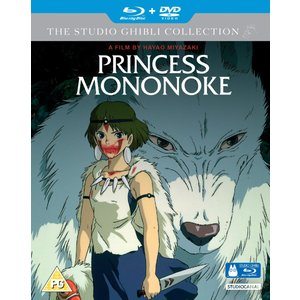 もののけ姫 ブルーレイ+DVD (UK版)|wdplace