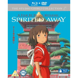 千と千尋の神隠し ブルーレイ+DVD (UK版) wdplace