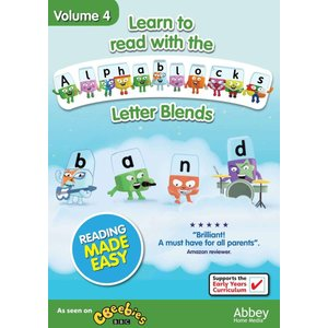 Learn To Read With the Alphablocks - Letter Blends Volume 4|wdplace