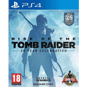 Rise of The Tomb Raider: 20 Year Celebration (PS4) - Standard Edition 輸入版|wdplace