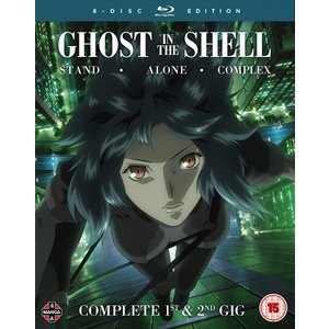 攻殻機動隊 STAND ALONE COMPLEX 1st & 2nd GIG (全52話) Ghost in the Shell ブルーレイ (UK版)|wdplace