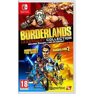 Borderlands Legendary Collection (Nintendo Switch) 輸入版|wdplace