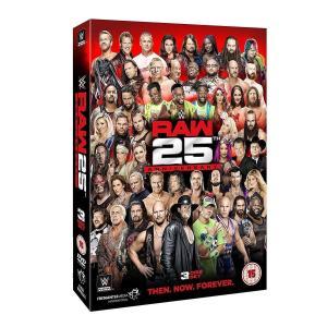 【タイトル】 WWE: Raw - 25th Anniversary [Region 2]