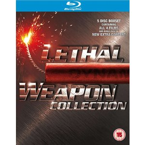 Lethal Weapon Collection - 1 - 4 Boxset (Blu-ray) wdplace