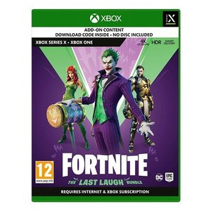 Fortnite The Last Laugh Bundle (Xbox One / Series X / S) - code in box 輸入版|wdplace