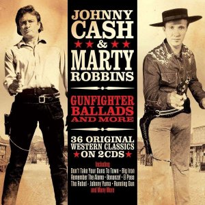 Johnny Cash & Marty Robbins - Gunfighter Ballads (Double CD) (CD)