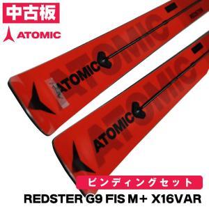 2020 ATOMIC スキー板 中古 試乗板 アトミック REDSTER G9 FIS M+ X1...