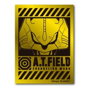 A.T.FIELD ステッカー 初号機アップ ATF003G 鏡面 ゴールド エヴァンゲリオン|we-love-sticker
