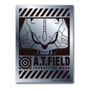 A.T.FIELD ステッカー 初号機アップ ATF003S 鏡面 シルバー エヴァンゲリオン|we-love-sticker