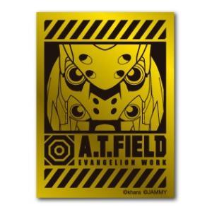 A.T.FIELD ステッカー 弐号機アップ ATF004G 鏡面 ゴールド エヴァンゲリオン|we-love-sticker