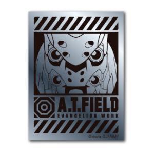 A.T.FIELD ステッカー 弐号機アップ ATF004S 鏡面 シルバー エヴァンゲリオン|we-love-sticker