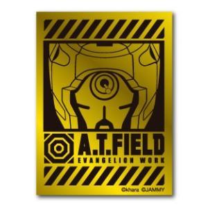 A.T.FIELD ステッカー 零号機アップ ATF005G 鏡面 ゴールド エヴァンゲリオン|we-love-sticker