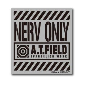 A.T.FIELD ステッカー NERV ONLY ATF006R 反射素材 エヴァンゲリオン|we-love-sticker