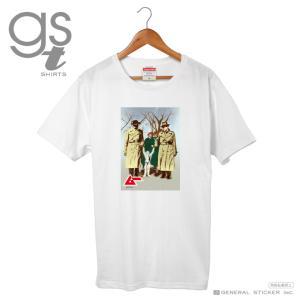 【ネット限定商品】  ムー Tシャツ 囚われた異星人 M、L、XLの3サイズ ホワイト メンズ プリント ミステリー 月刊ムー公認 GST024 gs グッズ we-love-sticker
