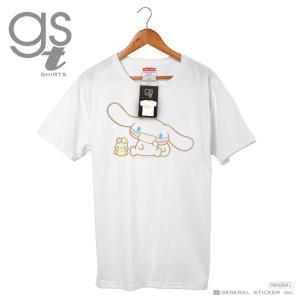 【ネット限定商品】 シナモロール キャラクターTシャツ サンリオ マスクシリーズ レディース M L イラスト ライセンス商品 GST043 gsオリジナル 公式グッズ|we-love-sticker