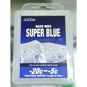 WEATHER REPORT SUPER BLUE BASE WAX|weatherreport