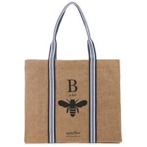アップル&ビー エコバッグ B is for Bee トートバッグ|web-beauty