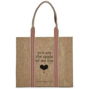 アップル&ビー エコバッグ Apple of my eye トートバッグ|web-beauty