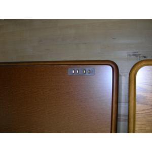 155高級書斎机 デスク rex ライトブラウン色 社長机  大川家具 国産家具  送料無料|web-interior|04