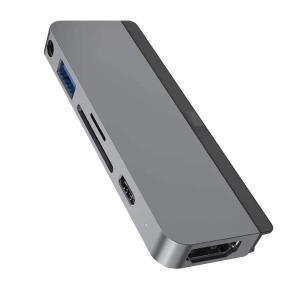 HyperDrive iPad Pro用 6-in-1 USB-C Hub スペースグレー 4K H...