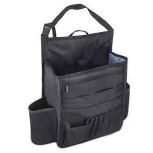 Luxja 車用収納ポケット 車 助手席 収納 多いポケット 撥水加工(黒) web-mark