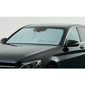 【Mercedes-Benz Accessories】 フロント・サンシェード Cクラス セダン/ワゴン S205/W205 web-mark