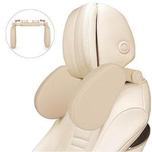 【進化版車用首枕】ネックパッド 車 ネッククッション ヘッドレスト カーシート枕 車中泊 バー適用幅8cm-17cm 低 web-mark