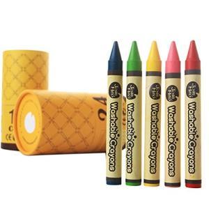 赤ちゃん クレヨン 安全 クレパス 色鉛筆 水 おとせる なめらか 書き 味 絵画 ペインティング 24 色 セット 落書|web-mark