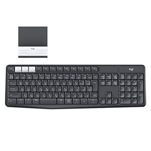 LOGICOOL ロジクール K370s PC/スマホ/タブレット対応 マルチデバイス Blueto...