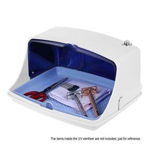 Decdeal UV滅菌キャビネット 多機能消毒クリーンツール プロフェッショナル ネイルアート機器トレイ 温度殺菌ツ|web-mark