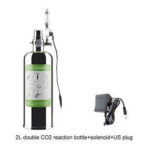 co2 ボンベ CO2ジェネレーター 気泡放出 DIY 発酵式CO2キット 酸素補給 バブルカウンター・電磁弁付き 水槽・水族|web-mark