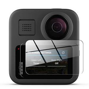 AIKKI GoPro Maxガラスフィルム 高透過率 薄型 硬度9H 飛散防止処理 自動吸着 Go...