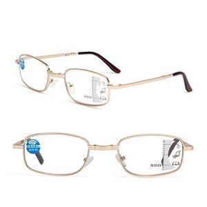レンサン(LianSan)老眼鏡 遠近両用 ブルーライトカットメガネ 折りたたみ PCメガネ おしゃれ メンズ レディース|web-mark