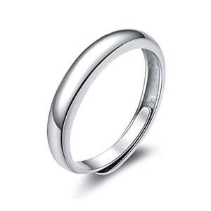 [イーフローラル] E-Floral シンプル 甲丸 レディースリング フリーサイズ シルバー925 指輪 レディース カップル web-mark