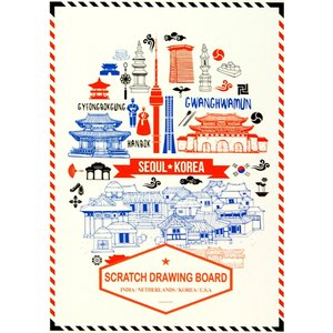SEI Scratch Drawing Board (Indea,Natherlands,Korea,U.S.A)|web-shop-big2