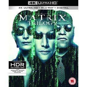 マトリックス トリロジー 4K UHD + Blu-ray リージョンフリー 日本語有り 輸入版 The Matrix Trilogy