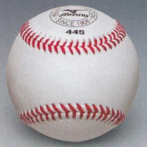 ミズノ 硬式野球ボール ミズノ445 人工皮革練習球 (5ダース/60球入り) 1BJBH44500 web-sports-do