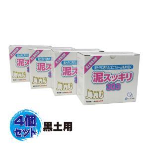 泥スッキリ本舗 泥スッキリ303 泥汚れ専用洗剤 (黒土専用) 4個セット doro-303N-4set
