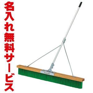 【送料別商品】 エバニュー コートブラシ アルミ120PH2 (グラウンド用) 幅120cm (名入れ可能) EKE884 web-sports-do