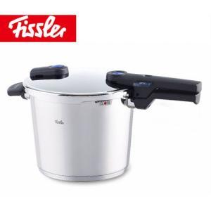 Fissler ビタクイックプラス圧力鍋 6L蒸し器・三脚・料理ブック付き91-02-00-511