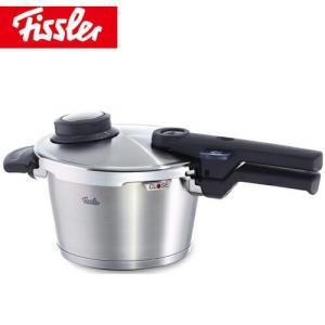 コンフォートプラス 圧力鍋 Fissler (フィスラー) 2.5L (蒸し器 三脚 料理ブック付き) 91-02-00-511 IH200V対応
