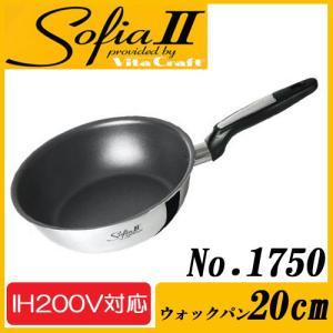 Vita Craft(ビタクラフト) ソフィア2 ウォックパン 20cm No.1750