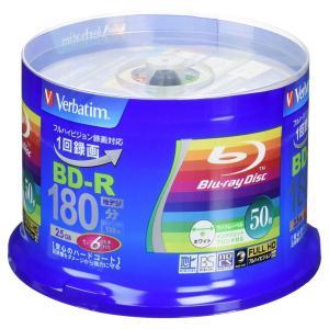 Verbatim (バーベイタム) 録画用ブルーレイ BD-R 1回録画用 1〜6倍速 片面1層 2...