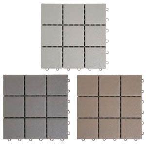 デッキ床化粧材 プラスチックタイルタイプ|web-takigawa