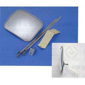 家庭用小型カーブミラー 角型|web-takigawa